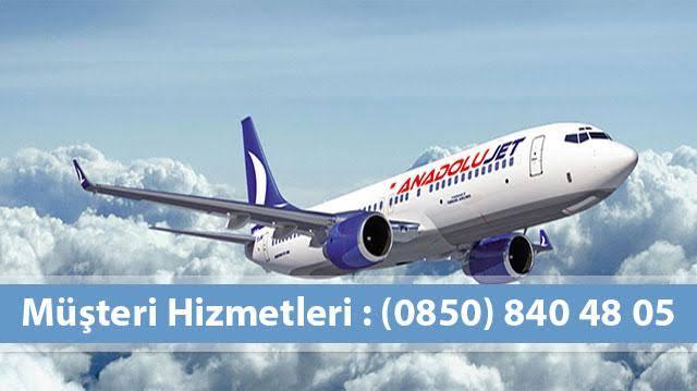 Anadolu Jet Müşteri Hizmetleri